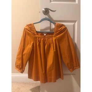 J.Crew burnt orange top